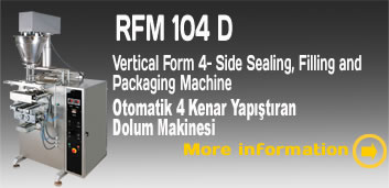Vertical Form fill & seal, packaging machine