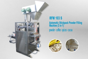 Stickpack Packaging Machine For Powder